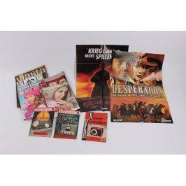 Mix časopisů různé žánry
