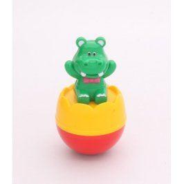 Plastová hračka: zelený hrošík
