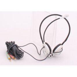 Náhlavní sluchátka s mikrofonem 200 cm