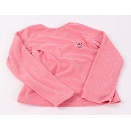 Dětská mikina růžové barvy