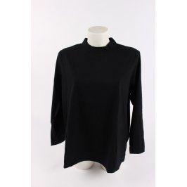 Dámský rolák - triko černé
