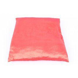 Polštář s povlakem červený