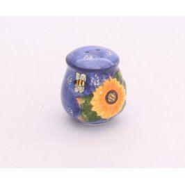 Porcelánová slánka s motivem květiny