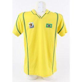 Brazilský dres C&A žlutý lemovaný zeleně