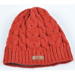 Zimní čepice Decathlon Wed'ze oranžové barvy