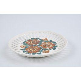 Dekorativní keramický talíř
