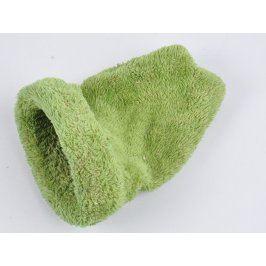 Froté pelíšek I love pets zelené barvy
