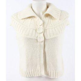 Dámský pletený svetr bez rukávů