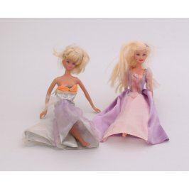Barbie panenka v šatech - 2 kusy