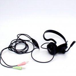 Headset Sweex s kabelem 220 cm