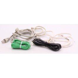 Propojovací telefonní kabely 5ks
