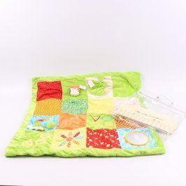 Hrací deka Baby Cuddles barevná