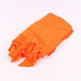 Víceúčelová látka oranžové barvy