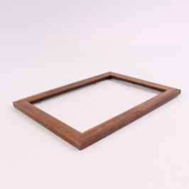 Dřevěný rámeček na postavení