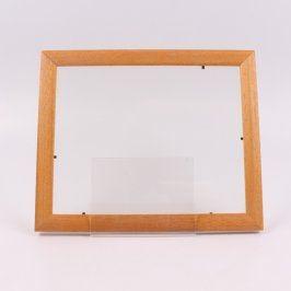 Dřevěný rámeček 34 x 27 cm