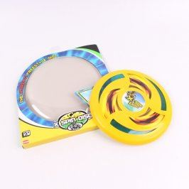 Frisbee No. 23270 X-SPIN DISC žlutý