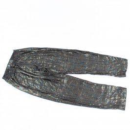 Dámské barevné lesklé kalhoty