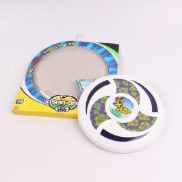 Frisbee - bílý létající talíř X-SPIN DISC