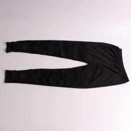 Dámské černé zdobené kalhoty