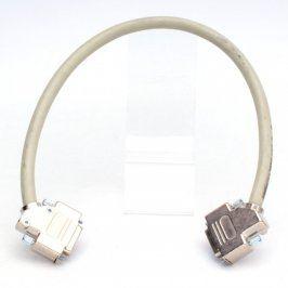 Kabel VGA 45 cm bílý