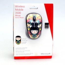 Bezdrátová myš Microsoft Mobile Mouse 3500