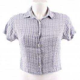Dámská košile Bay Authentic Design modrobílá