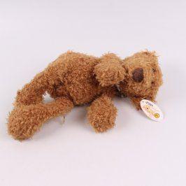 Plyšový huňatý medvídek