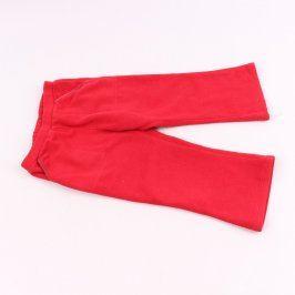 Dívčí tepláky GAP odstín červené