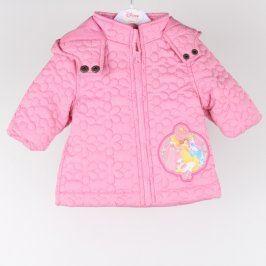 Dětská bunda Disney princezny odstín růžové