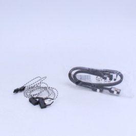 Kabel SATA ASUS 30 cm a spínač OMRON 52 cm