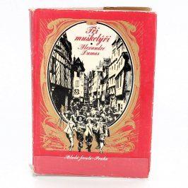 Kniha Alexandre Dumas: Tři mušketýři