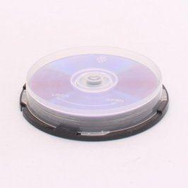Nepoužité medium CD-R 10 kusů