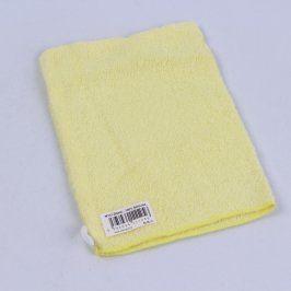 Žínka Palmact bavlněná žlutá
