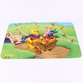 Hrací koberec Disney 50 x 80 cm Medvídek Pú