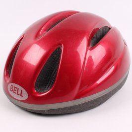 Dětská cyklistická helma Bell červená