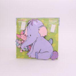 Dětský pěnový slon na zeď Decofun