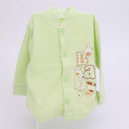 Dětská košilka Amaro Baby světle zelená