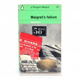 Kniha Maigret's failure Georges Simenom