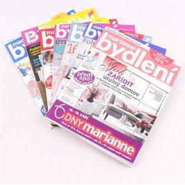 Časopisy Marianne bydlení více kusů