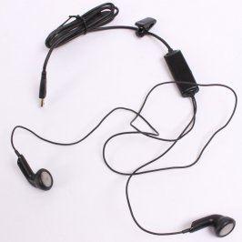 Sluchátka do uší černá miniUSB