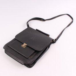 Dámská aktovka černé barvy