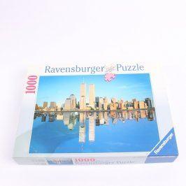 Puzzle Ravensburger s obrázkem města