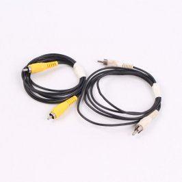 Audio kabel cinch M délka 140 cm 2 kusy
