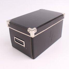 Papírový úložný box vystužený