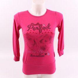 Dívčí tričko Hanny růžové