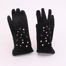 Prstové dámské rukavice Reserved černé