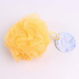 Mycí houba žlutá na tělo