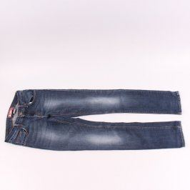 Dívčí džíny H&M tmavě modré barvy