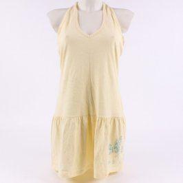 Dámské letní šaty Authentic Style žluté