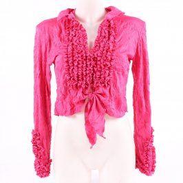 Dámská halenka Evita svítivě růžová